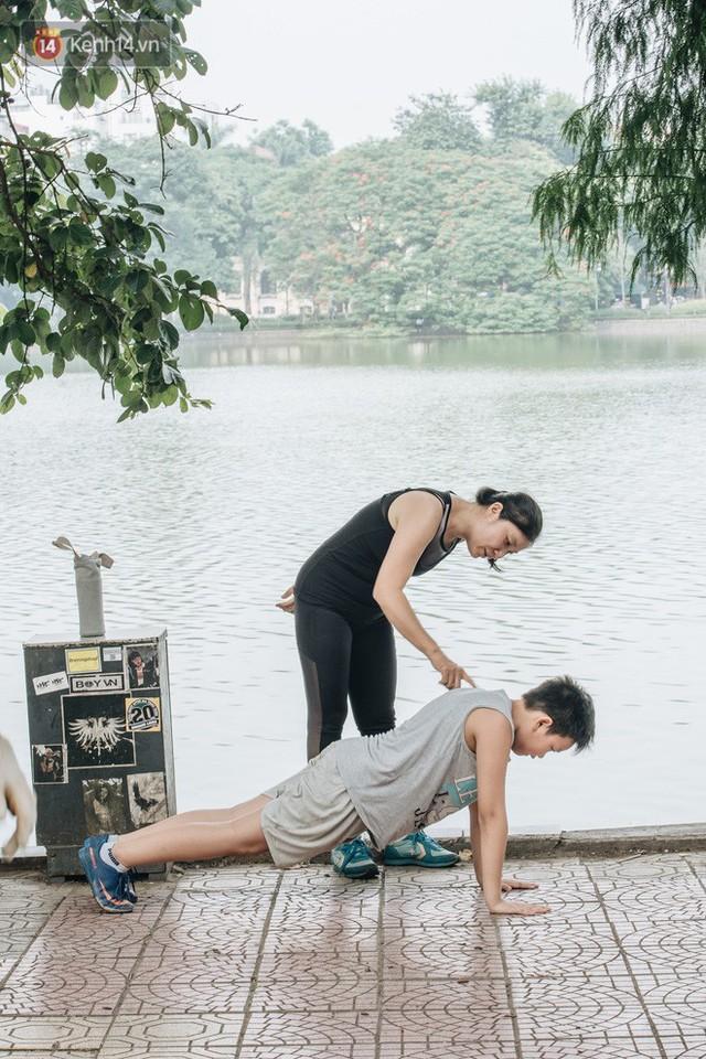 CLB Sắt rỉ Hồ Gươm và câu chuyện tập thể dục như một niềm vui bị nghiện - Ảnh 12.