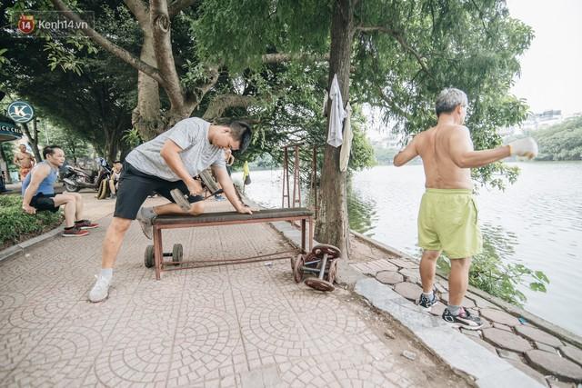 CLB Sắt rỉ Hồ Gươm và câu chuyện tập thể dục như một niềm vui bị nghiện - Ảnh 6.