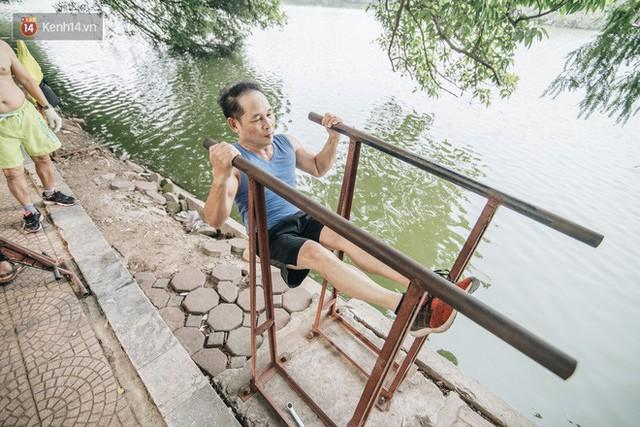 CLB Sắt rỉ Hồ Gươm và câu chuyện tập thể dục như một niềm vui bị nghiện - Ảnh 9.