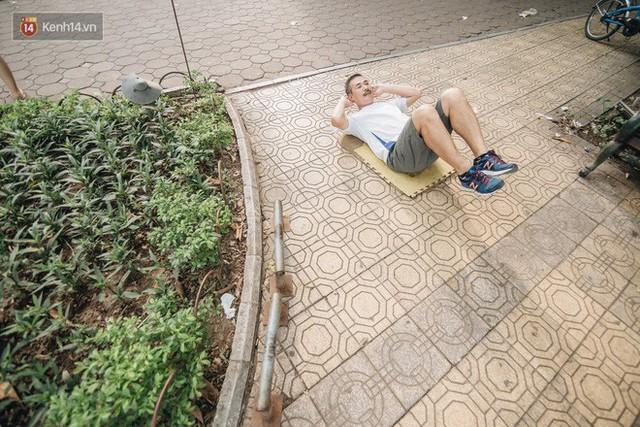 CLB Sắt rỉ Hồ Gươm và câu chuyện tập thể dục như một niềm vui bị nghiện - Ảnh 10.