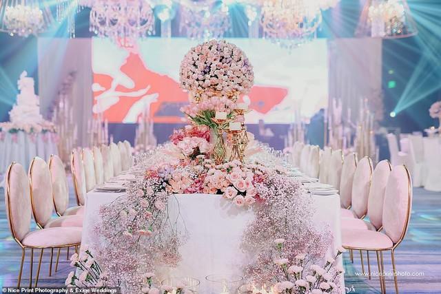 Tiệc sinh nhật xa xỉ gần 700 triệu của ái nữ nhà giàu, khách mời còn được tặng túi Louis Vuitton mang về - Ảnh 2.