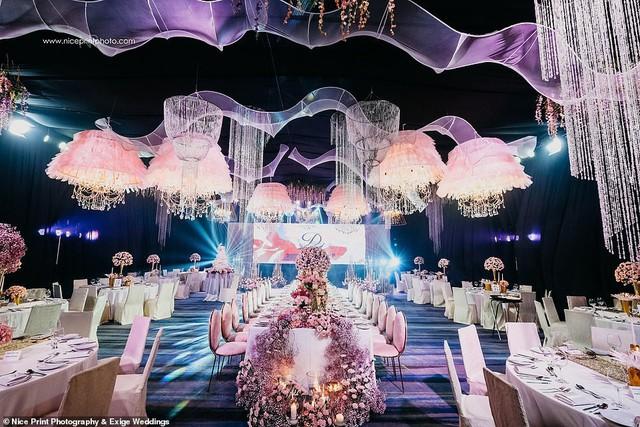 Tiệc sinh nhật xa xỉ gần 700 triệu của ái nữ nhà giàu, khách mời còn được tặng túi Louis Vuitton mang về - Ảnh 3.