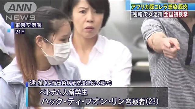 Nữ sinh Việt bị bắt vì mang nem chua chứa virus tả lợn vào Nhật Bản - Ảnh 1.
