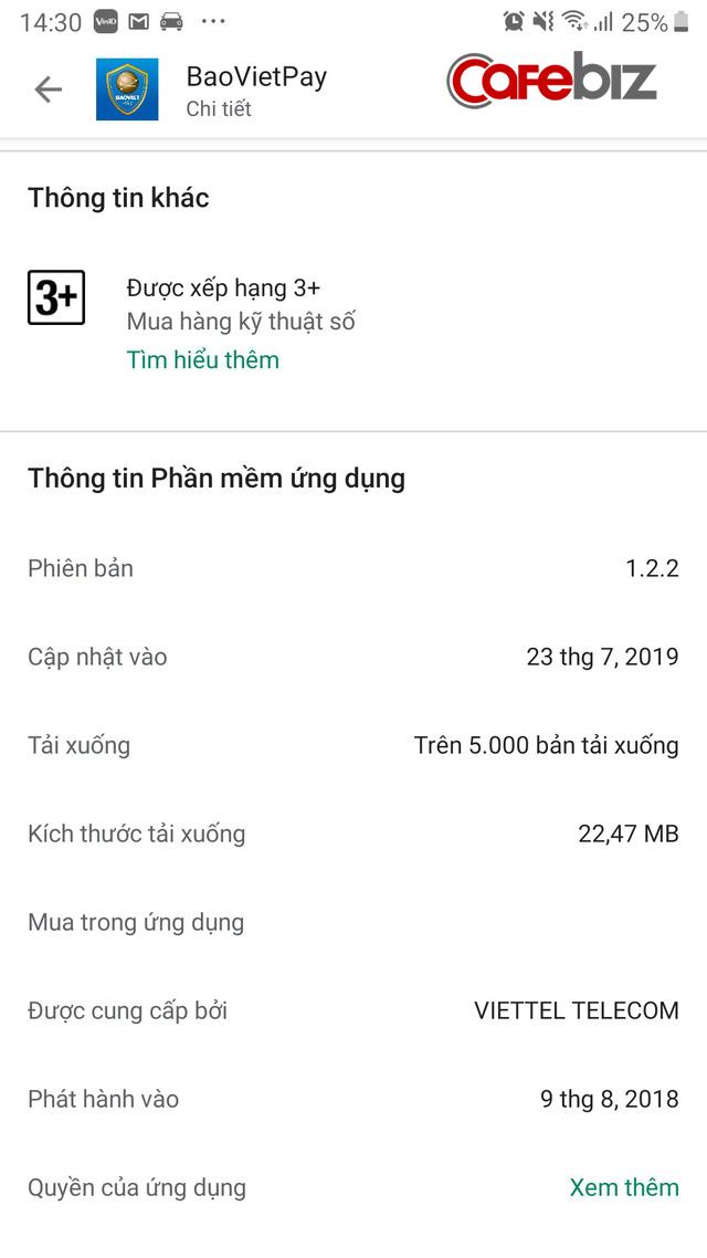 Doanh nghiệp số 1 ngành bảo hiểm Việt Nam tham gia mảng payment, ra mắt BaovietPay - Ảnh 1.