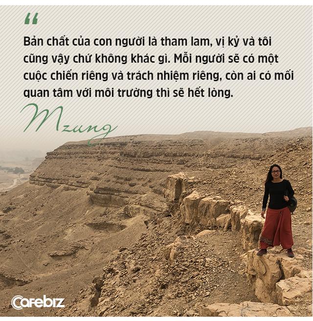 """Nhà hoạt động môi trường, nhà tái chế Mzung: """"Người trẻ ạ, sẽ đến lúc thế giới không cần người thành công nữa, mà cần người tử tế để đi sửa những điều sai - Ảnh 11."""