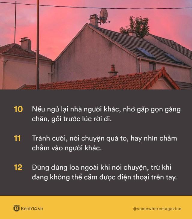 Không cần biết nhiều chỉ cần biết điều: Nằm lòng 30 quy tắc để không bao giờ biến mình thành kẻ bất lịch sự - Ảnh 2.