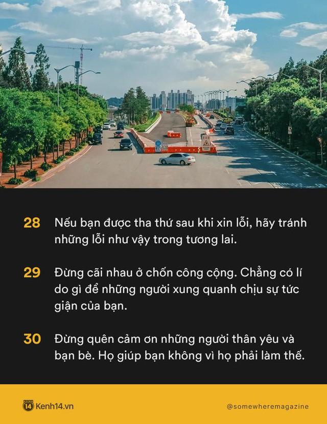 Không cần biết nhiều chỉ cần biết điều: Nằm lòng 30 quy tắc để không bao giờ biến mình thành kẻ bất lịch sự - Ảnh 8.