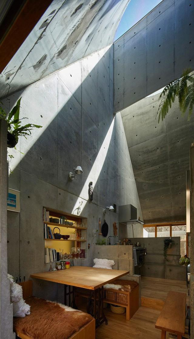 Không hổ danh là thiết kế của Nhật, ngôi nhà 19m² nhỏ xíu này gần như không có một điểm trừ trong thiết kế và bài trí - Ảnh 5.