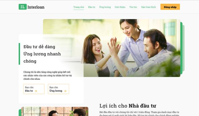 Startup Interloan – mô hình cho vay ngang hàng trực tuyến, ra mắt cùng những bước đi thận trọng - Ảnh 1.