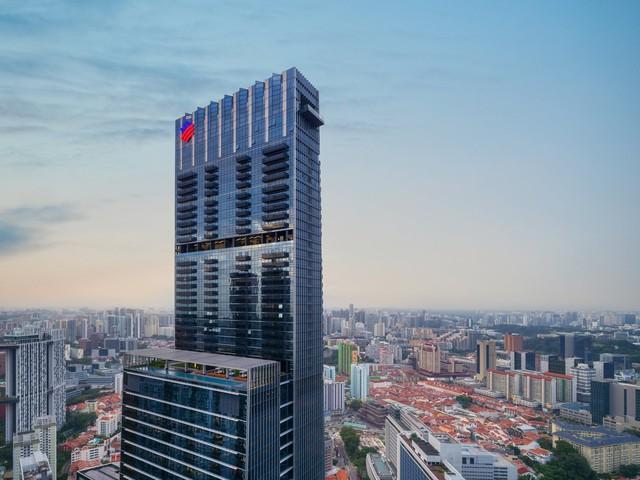 Bên trong toà nhà cao nhất Singapore - Ảnh 1.