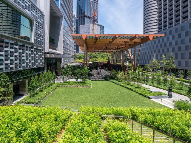 Bên trong toà nhà cao nhất Singapore - Ảnh 4.