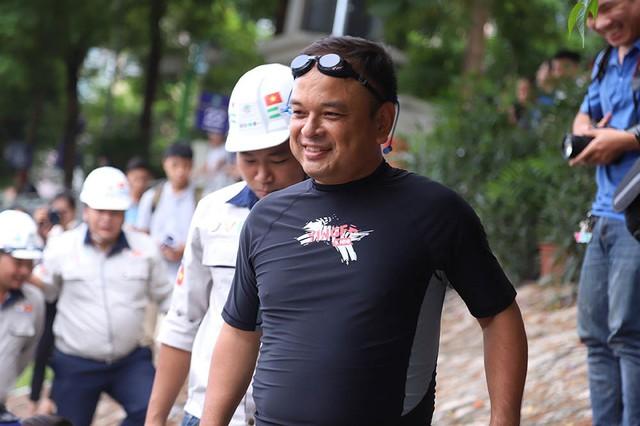 Tiến sĩ Nhật tắm sông Tô Lịch, cảm ơn Thủ tướng trước khi về nước - Ảnh 1.
