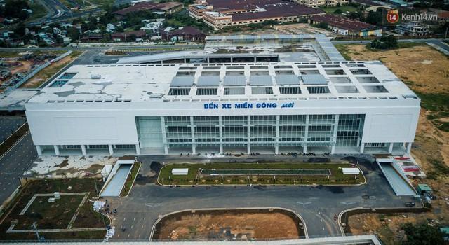 Bên trong khu phức hợp bến xe Miền Đông mới, vốn đầu tư 4.000 tỉ đồng trước ngày đi vào hoạt động - Ảnh 3.