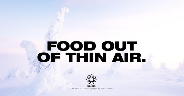 Không còn là viễn tưởng, một công ty Phần Lan đã hiện thực hóa ý tưởng sản xuất thức ăn từ không khí - Ảnh 2.
