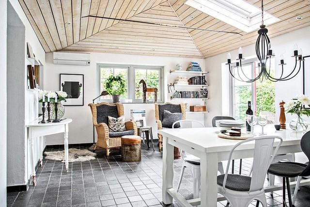 Cải tạo nhà cũ thành ngôi nhà vườn hoàn hảo đáng mơ ước đậm chất Scandinavia - Ảnh 15.