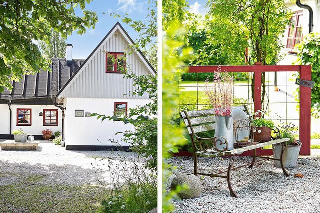 Cải tạo nhà cũ thành ngôi nhà vườn hoàn hảo đáng mơ ước đậm chất Scandinavia - Ảnh 18.