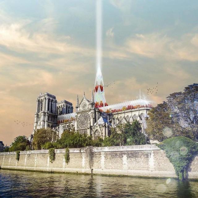 Đề xuất táo bạo của một công ty kiến trúc Việt trong việc khôi phục Nhà thờ Đức Bà - Ảnh 2.