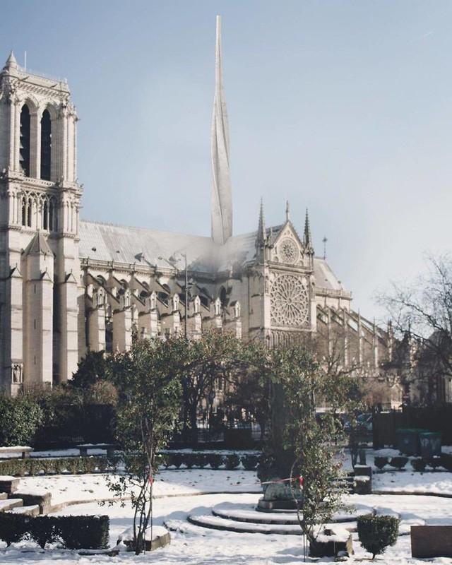 Đề xuất táo bạo của một công ty kiến trúc Việt trong việc khôi phục Nhà thờ Đức Bà - Ảnh 4.