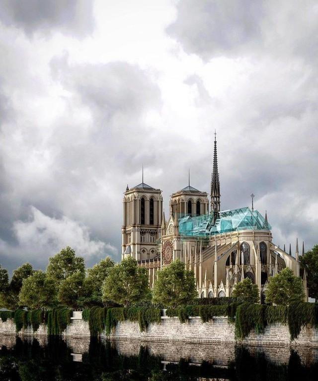 Đề xuất táo bạo của một công ty kiến trúc Việt trong việc khôi phục Nhà thờ Đức Bà - Ảnh 5.