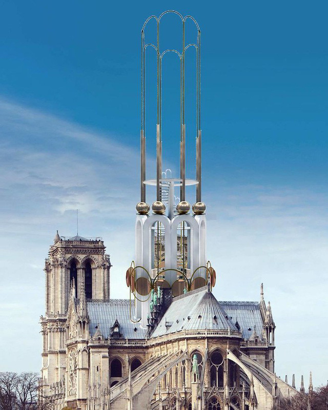 Đề xuất táo bạo của một công ty kiến trúc Việt trong việc khôi phục Nhà thờ Đức Bà - Ảnh 6.