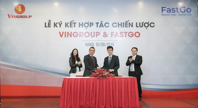 Vingroup hợp tác với FastGo tham gia <a class=