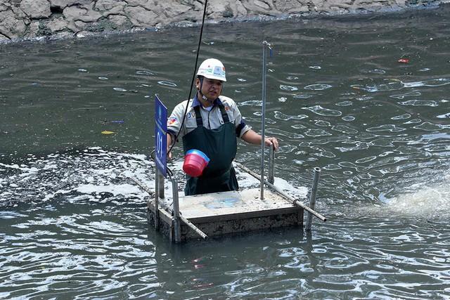 Chuyên gia Nhật: Sở TN&MT TP.HCM chưa hiểu công nghệ làm sạch sông Tô Lịch - Ảnh 3.