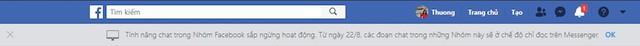 Tính năng chat trong Nhóm Facebook sắp ngừng hoạt động? - Ảnh 1.