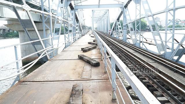 Ngắm từ trên cao cầu đường sắt 117 năm tuổi ở Sài Gòn sắp tháo dỡ - Ảnh 13.