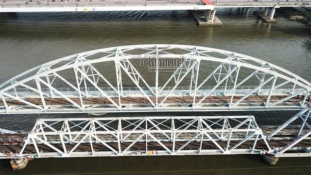 Ngắm từ trên cao cầu đường sắt 117 năm tuổi ở Sài Gòn sắp tháo dỡ - Ảnh 3.