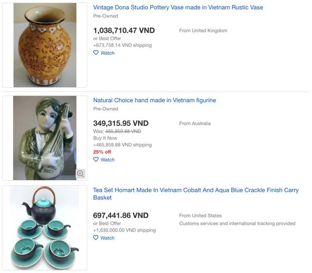 Hàng loạt sản phẩm truyền thống của Việt Nam được bán với giá cực cao trên Amazon, eBay - Ảnh 4.