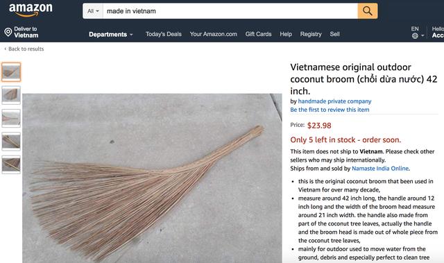 Hàng loạt sản phẩm truyền thống của Việt Nam được bán với giá cực cao trên Amazon, eBay - Ảnh 7.