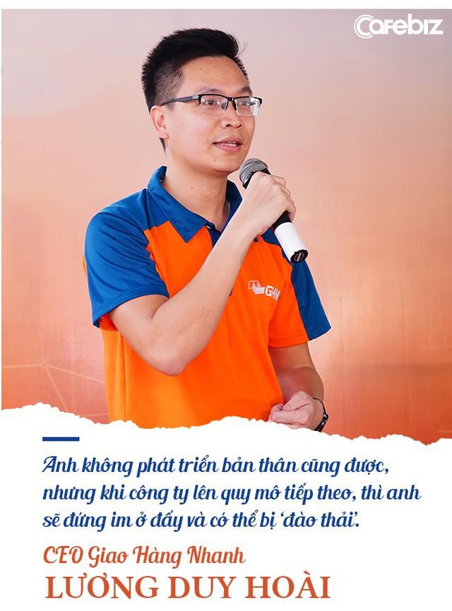 CEO Giao Hàng Nhanh: Sợ nhất vẫn là 'không biết cái mà mình cũng không biết' - Ảnh 6.