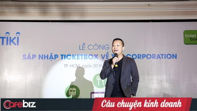 """Tiki mua lại 100% cổ phần của Ticketbox, tiết lộ số tiền đầu tư bỏ ra """"không hề nhỏ"""" - Ảnh 1."""