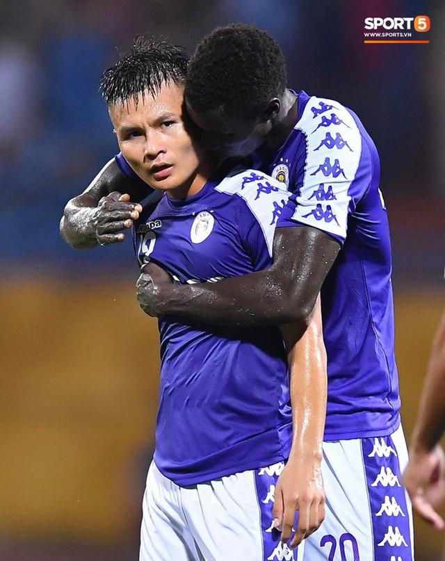 Quang Hải lên thần, ghi liên tiếp hai bàn đẹp mắt ở Cúp châu Á cho Hà Nội FC - Ảnh 13.