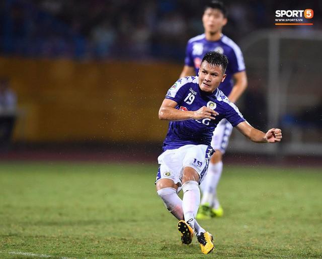 Quang Hải lên thần, ghi liên tiếp hai bàn đẹp mắt ở Cúp châu Á cho Hà Nội FC - Ảnh 5.