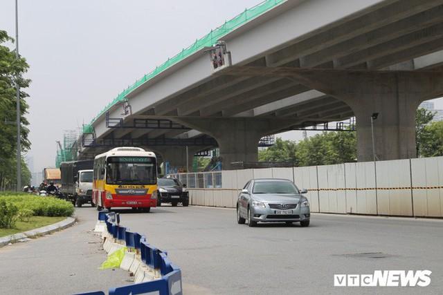 Ảnh: Hình hài con đường trên cao hơn 5.000 tỷ đồng ở Hà Nội - Ảnh 3.