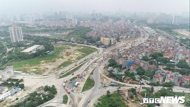 Ảnh: Hình hài con đường trên cao hơn 5.000 tỷ đồng ở Hà Nội - Ảnh 7.