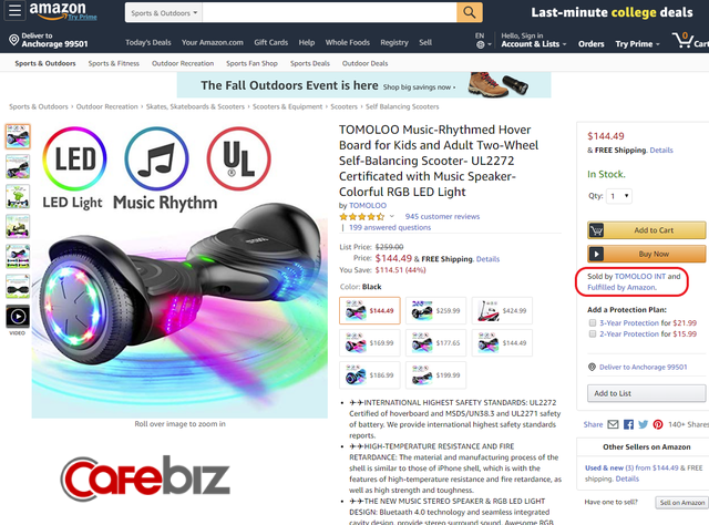 Sự thật về hàng hóa trên Amazon: Vẫn có hàng fake, hàng giả như thường, có sản phẩm thậm chí từng phát nổ - Ảnh 2.