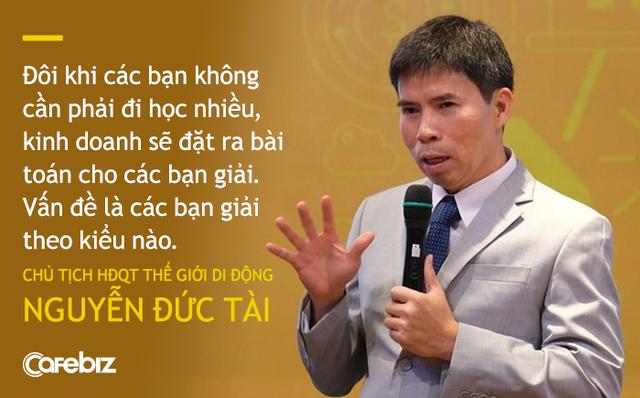Chủ tịch TGDĐ Nguyễn Đức Tài