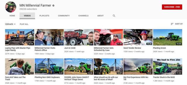 Mỹ: Nông dân kiếm nhiều tiền từ YouTube hơn từ vụ mùa của họ - Ảnh 1.