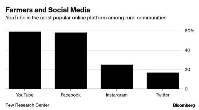 Mỹ: Nông dân kiếm nhiều tiền từ YouTube hơn từ vụ mùa của họ - Ảnh 2.