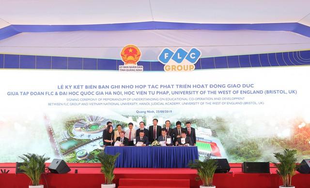 Tập đoàn FLC khởi công Đô thị Đại học quy mô hơn 700 ha tại Quảng Ninh - Ảnh 1.