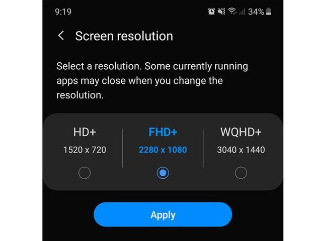 Tại sao điện thoại Samsung có màn hình đỉnh nhưng độ phân giải thấp hơn các flagship đối thủ - Ảnh 1.