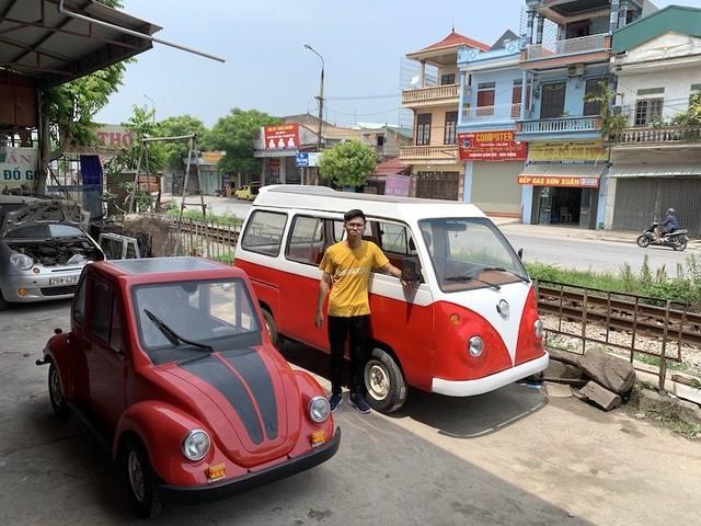 Nam Định: Nam sinh chế tạo thành công xe ô tô năng lượng mặt trời - Ảnh 2.