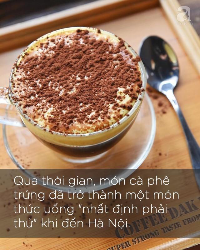 Cà phê trứng: Từ góc nhỏ trong phố cổ Hà Nội vươn ra thế giới, trở thành thức uống đặc sắc được ưa thích ở Mỹ và Canada - Ảnh 2.