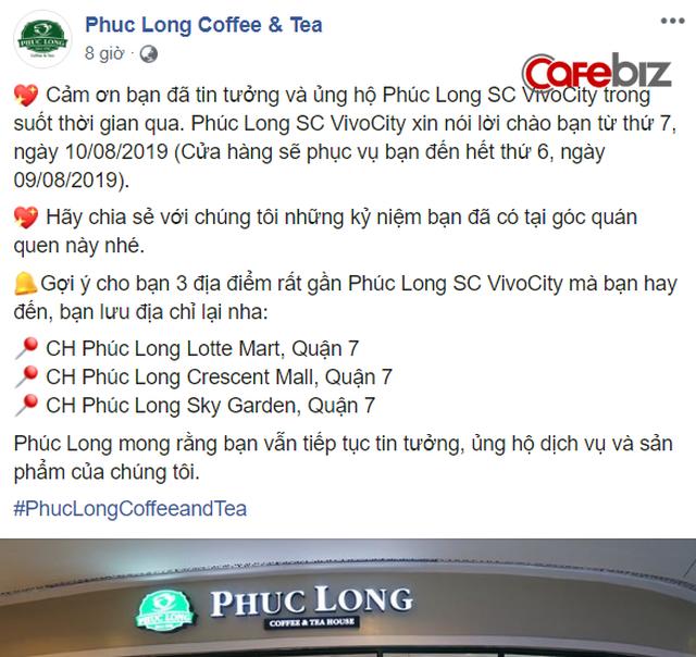 Sau khi ngừng hoạt động cửa hàng ở Ngã 6 Phù Đổng, Phúc Long tiếp tục đóng một cửa hàng đắc địa khác tại Sài Gòn - Ảnh 1.