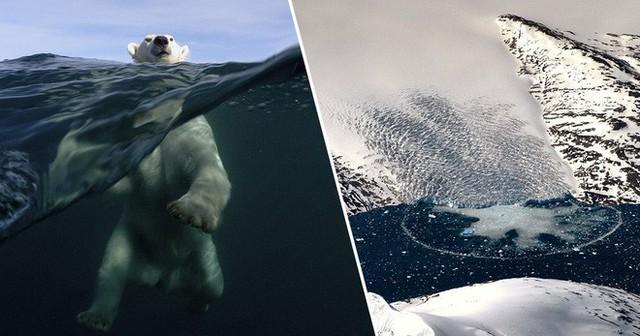Hơn 12 tỷ tấn băng bị tan chảy ở Greenland chỉ trong một ngày - Ảnh 1.