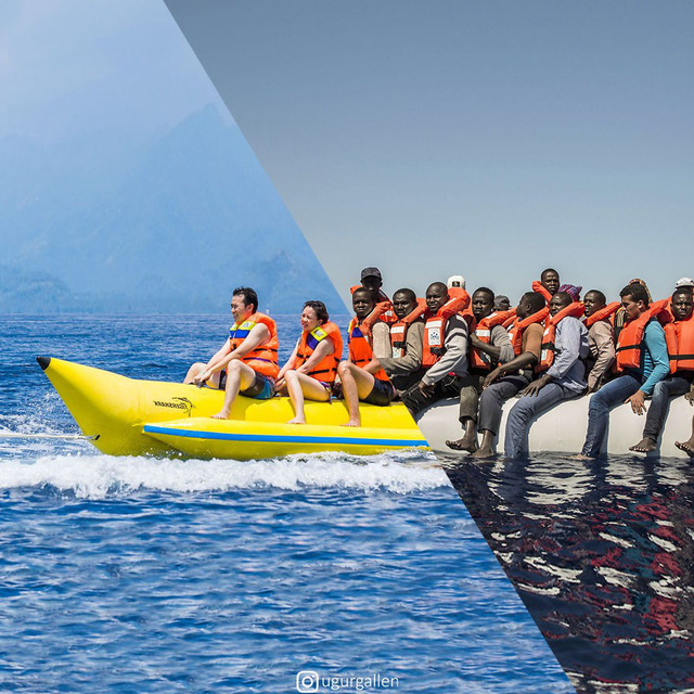 [Pic] Một bức ảnh hai thế giới cho thấy sự tương phản khiến chúng ta phải suy ngẫm - Ảnh 10.