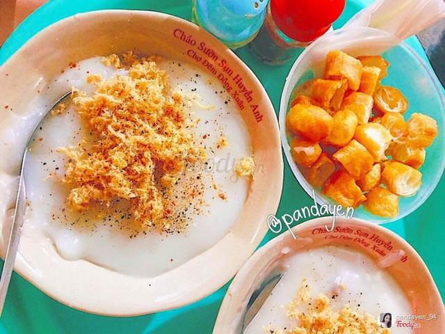 Những hàng ăn ở Hà Nội chỉ mở lúc rạng sáng và nghỉ bán khi mặt trời vừa lên, dù gió rét vẫn tấp nập người qua lại - Ảnh 19.