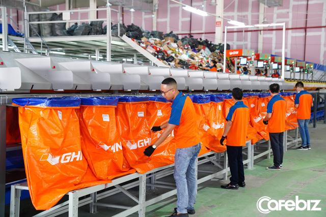 GHN ra mắt hệ thống phân loại hàng tự động 100% lớn nhất tại Việt Nam: Năng suất 30.000 đơn/giờ, tiết kiệm 600 nhân công, rút ngắn thời gian từ 3 giờ còn 30 phút - Ảnh 3.